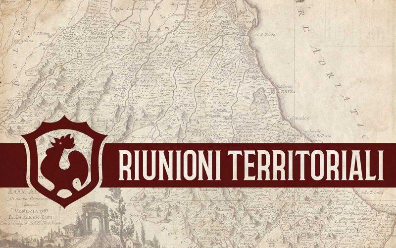 Febbraio/marzo 2017: Riunioni Territoriali Del Tribunato